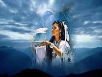 femme chamane : cérémonie de la purification