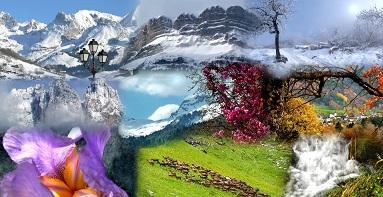 hiver et printemps